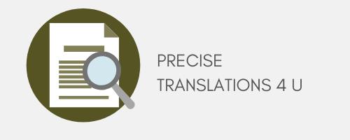PreciseTranslations4u Ltd